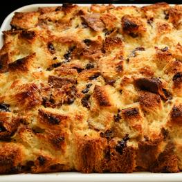 Panettone Bread Pudding