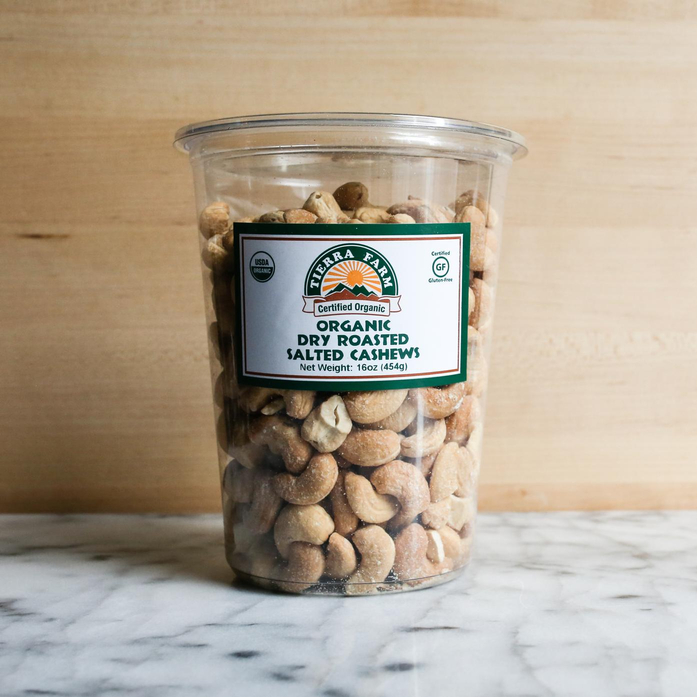 Organic Roasted and Salted Cashews