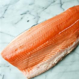 Organically Raised Scottish Salmon Side (Skin-On)