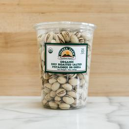 Organic Roasted and Salted Pistachios (In-Shell)