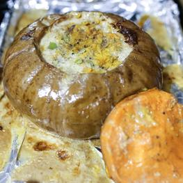 Stuffed Cheese Pumpkin