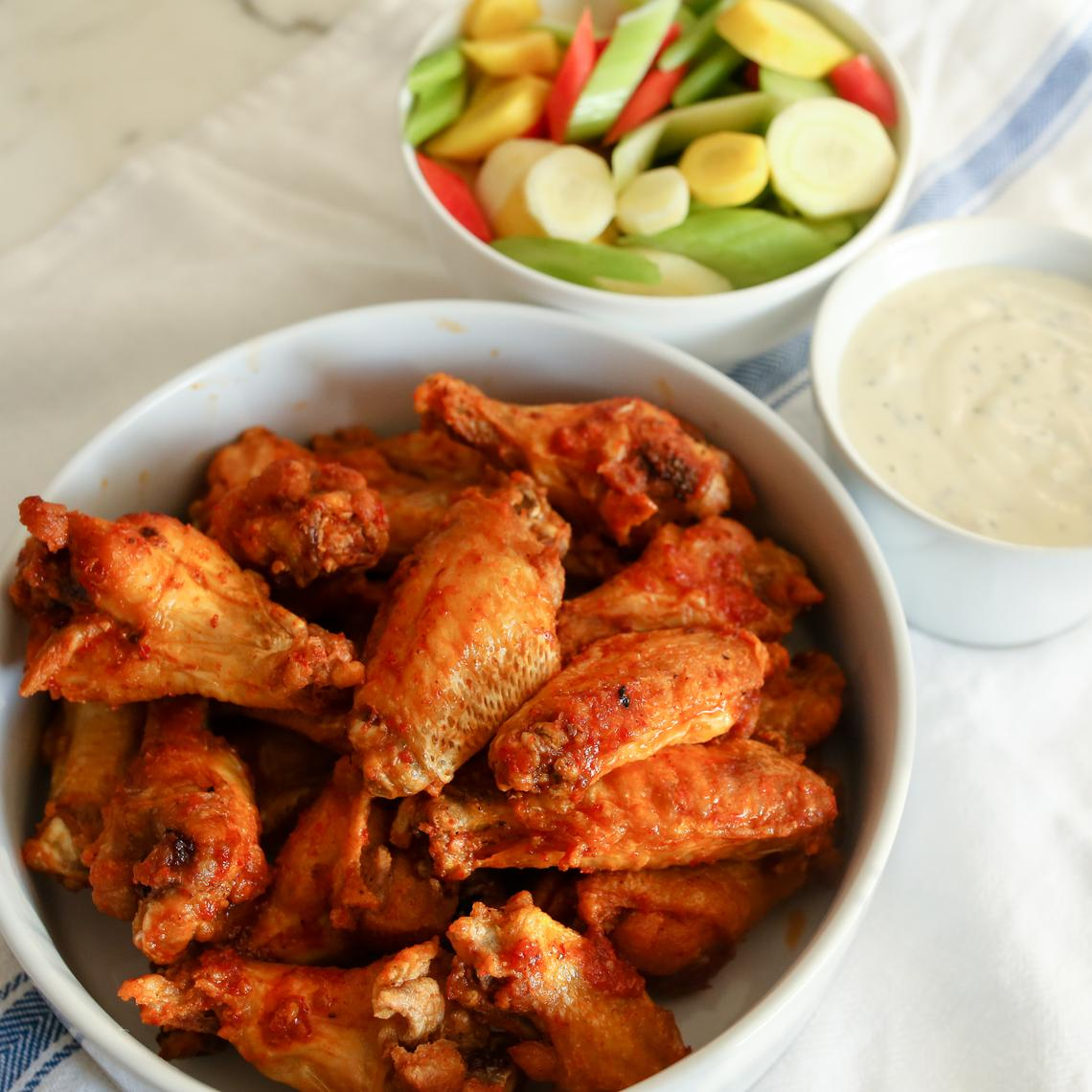 Fried Buffalo Wings