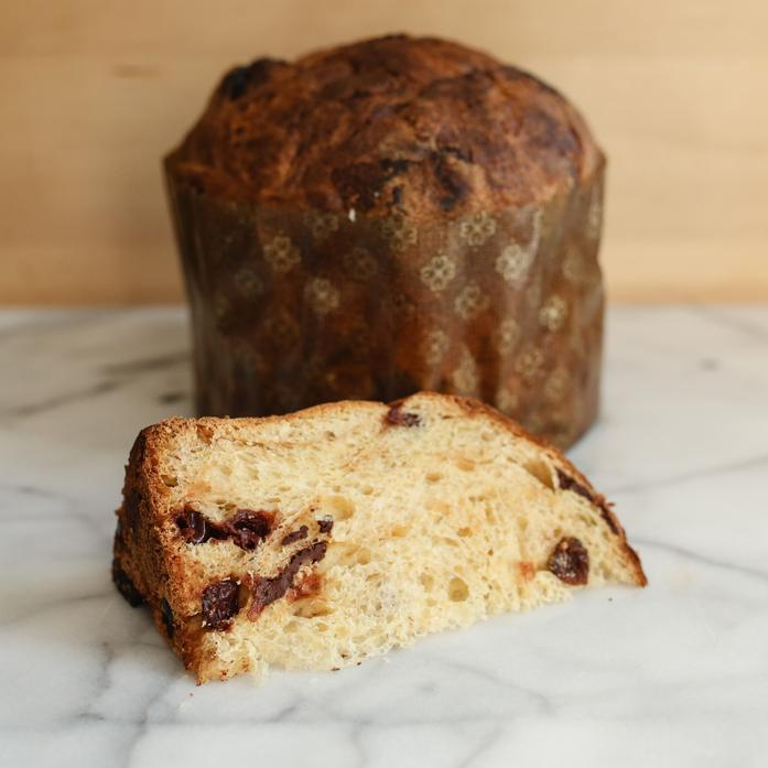 Chocolate Cherry Panettone