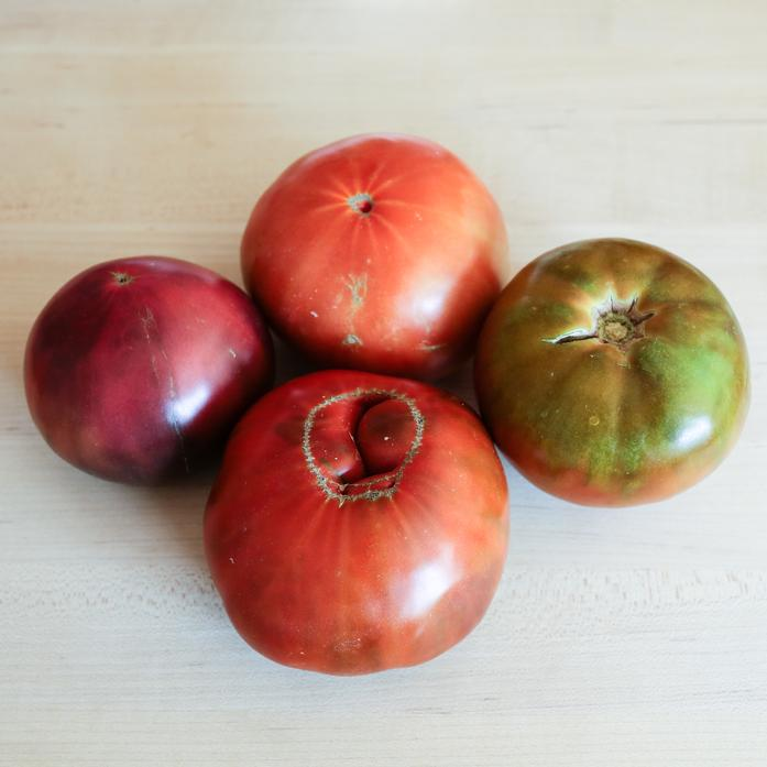 Organically Grown Heirloom Tomatoes - 2 lb Pack