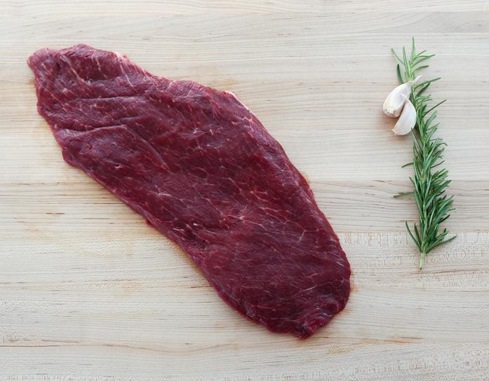 Grass-Fed, Grain-Finished Flat Iron Steak