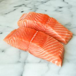 Organically Raised Scottish Salmon - 1 lb Pack