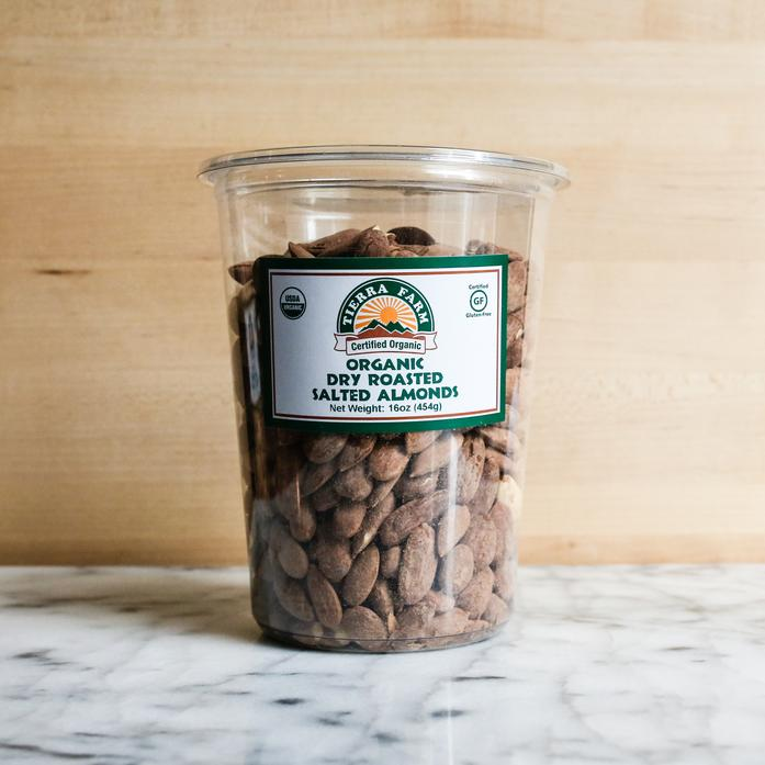 Organic Roasted and Salted Almonds