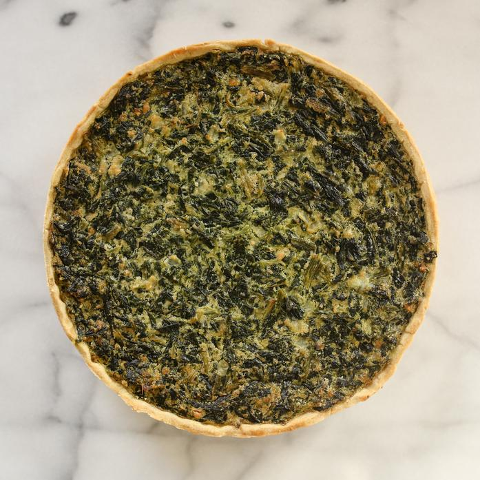 Large Spinach Tart