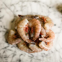 Fresh Wild Large Shrimp - 1 lb Pack