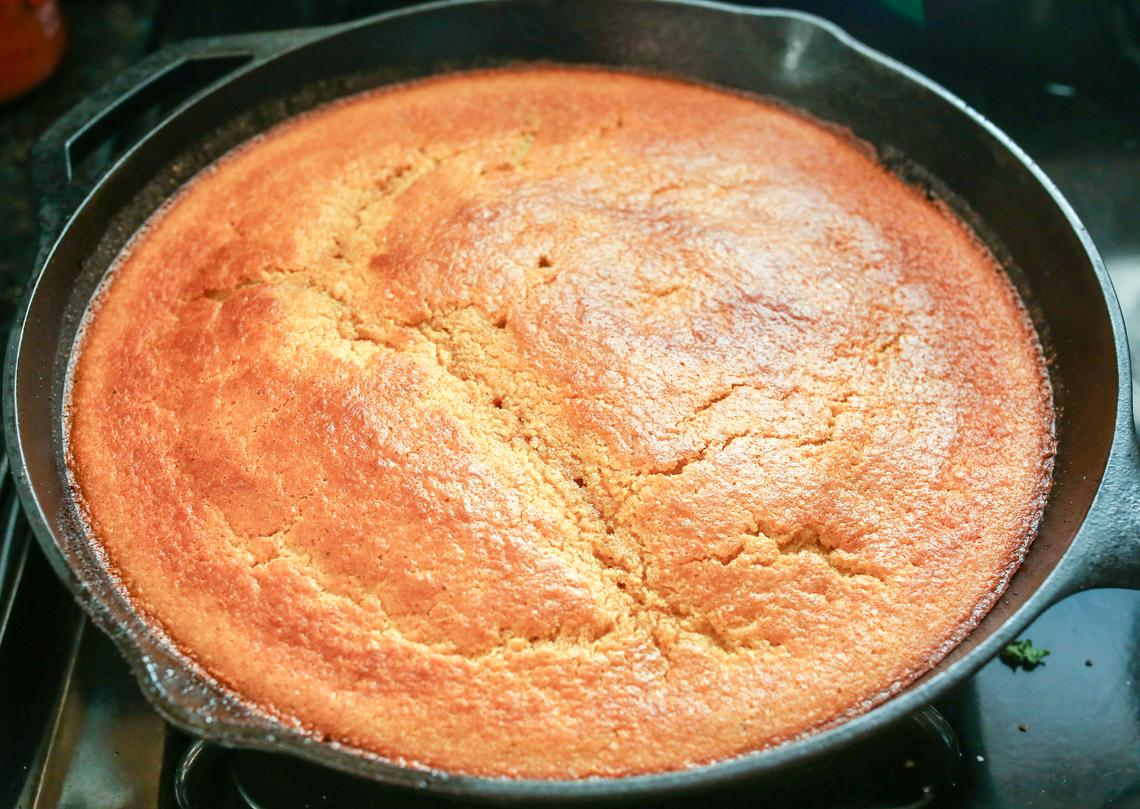 Brown Butter Cornbread Recipe | OurHarvest