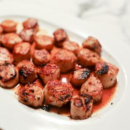 Sea Scallops with Bay Leaf Brown Butter