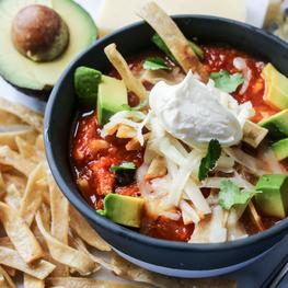 """Sweet"" Uncle Mike's Tortilla Soup"