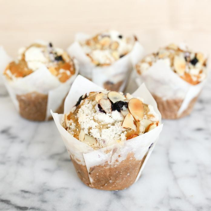 Blueberry Almond Muffin