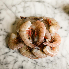 Fresh Wild Large Shrimp - 2 lb Pack