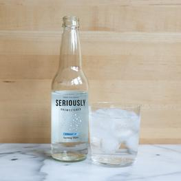 Straight-Up Sparkling Water